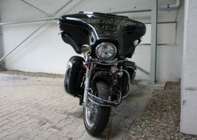 Harley-Davidson FLHTCUI – havarovaný