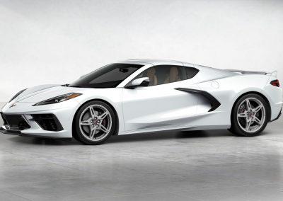 Chevrolet Corvette C8 (na cestě, v ČR březen 2021)